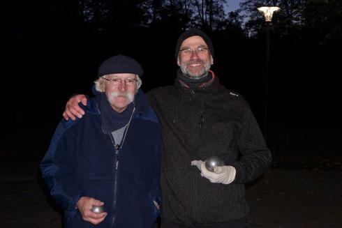 Turniersieger Wolgang Joohs und Andreas Creutzberg