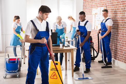 funciones de una limpiadora