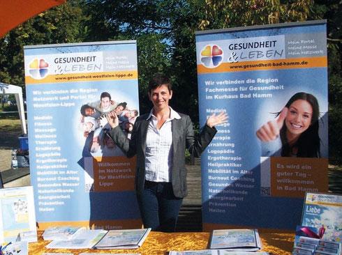 Martina Hau I Netzwerk und Gesundheitsmesse Westfalen-Lippe