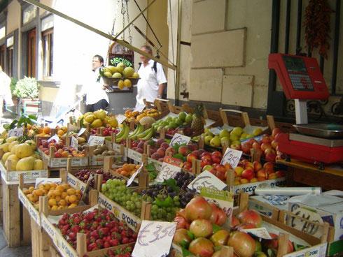 Marché à Naples