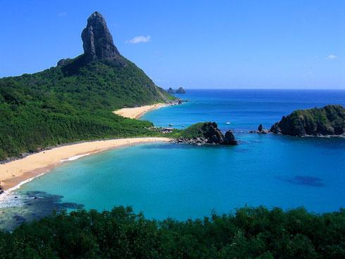Ile de Fernando de Noronha (classée au patrimoine de l'Unesco)