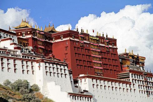 Palais du Potala, Lhassa (Province autonome du Tibet)