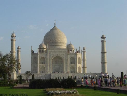 Le célèbre Taj Mahal