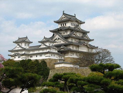 Château de Himeji (classé au patrimoine mondial de l'UNESCO)