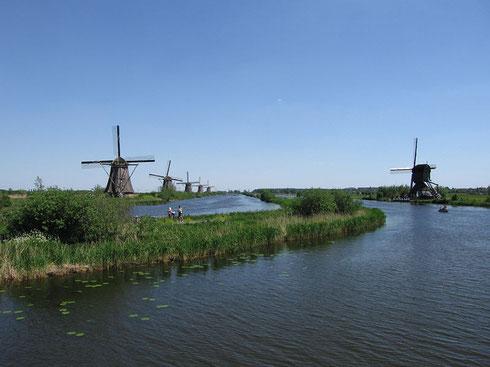 Moulins à Kinderdijk