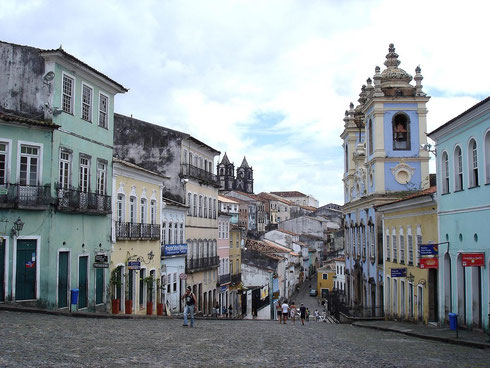 La ville de Salvador de Bahia (classé au patrimoine de l'Unesco)