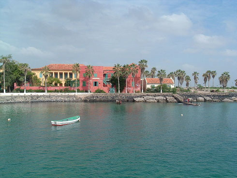 Port de l'Ile de Gorée (Sénégal)