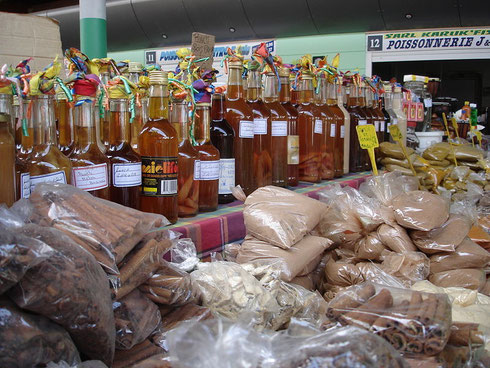 Etal d'un marché
