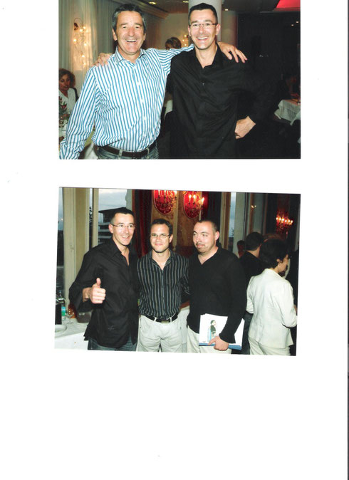 Avec Bruno SABIT (pilote de rallye) et Jordan SARRALIE (chp du monde de sambo)