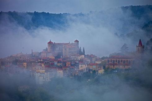 Five o'clock in Callian, Provence  Foto: Tobias Bunners