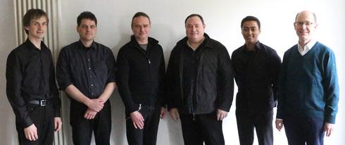 Der Vorstand des Fördervereins im Jahr 2016