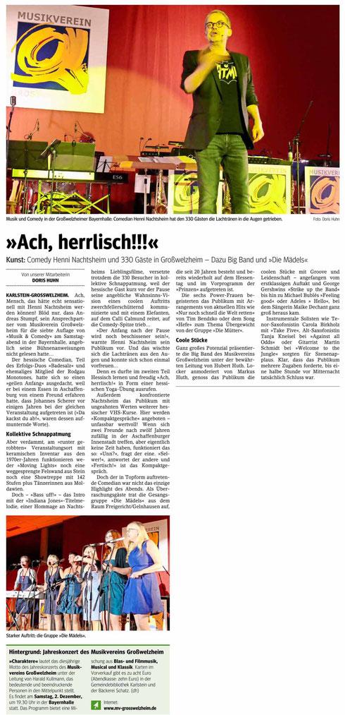 Musik & Comedy 2017, Main-Echo v. 23.10,2017