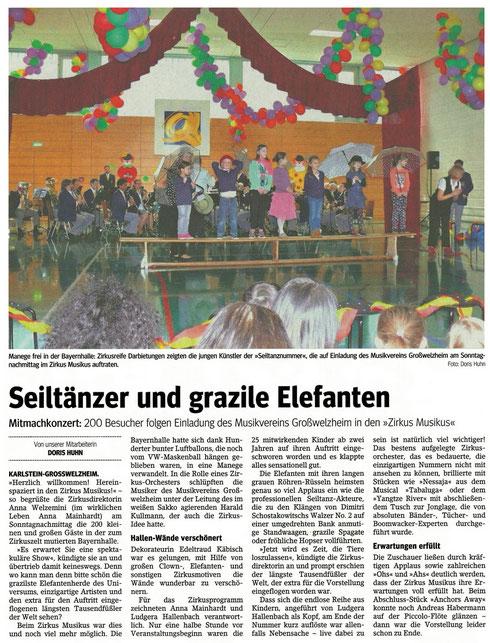 Konzert für Kinder, Main-Echo v. 07.03.2017