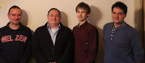 Der neue Vorstand des Fördervereins: Richard Stumpf, Andreas Stumpf, Nils Vogt, Dirk Appel (v.l.), es fehlen Reinhold Huth und Christian Rüfner.