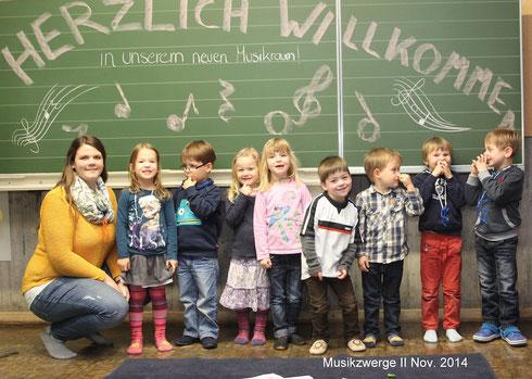 Die Musikzwerge II im November 2014