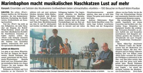 Musikalisches Konfekt 2016, Main-Echo v. 19.04.2016