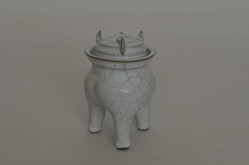 白瓷 香炉