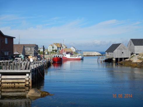 le port de Port de Peggys Cove