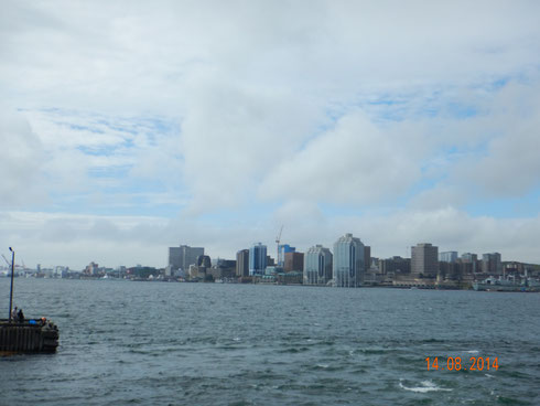 la baie d'Halifax