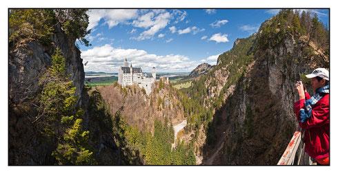 Schloss Neuschwanstein mit Japaner