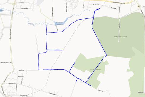 GPS Track Glinde