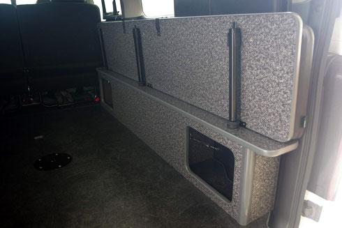 ハイエース NV350 ベッドキット トランポ バイク 荷室 車中泊