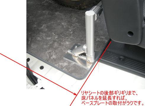 ハイエース 床貼り 床パネル フロアパネル