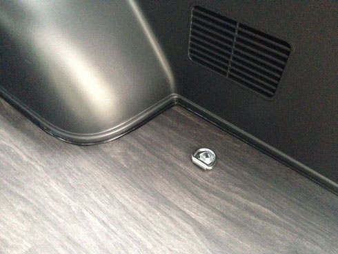 ハイエース 床貼り 防水 床パネル