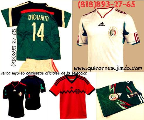 camisetas selección mexicana fútbol soccer