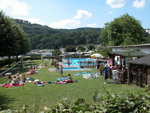 Das Odersbacher Schwimmbad wird auch vom Kur- und Verkehrsverein unterstützt.