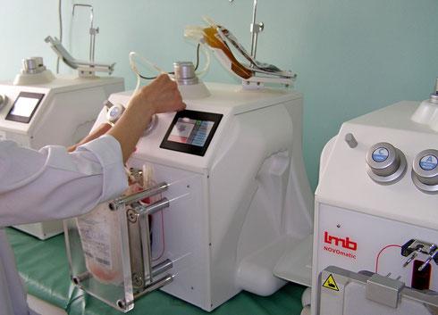 Современные,  автоматические плазмаэкстракторы