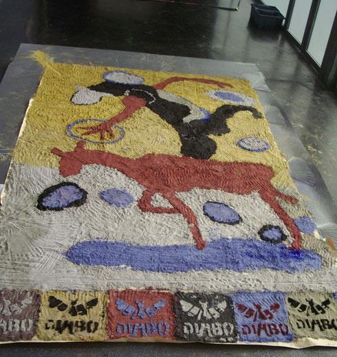 installation à la foire d'art fair lille, Lille 2012
