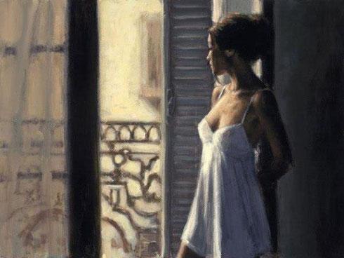 Lycaëna regarde son amant partir...