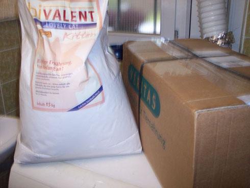 Kitten-Futter für die Igel der Igelhilfe eV