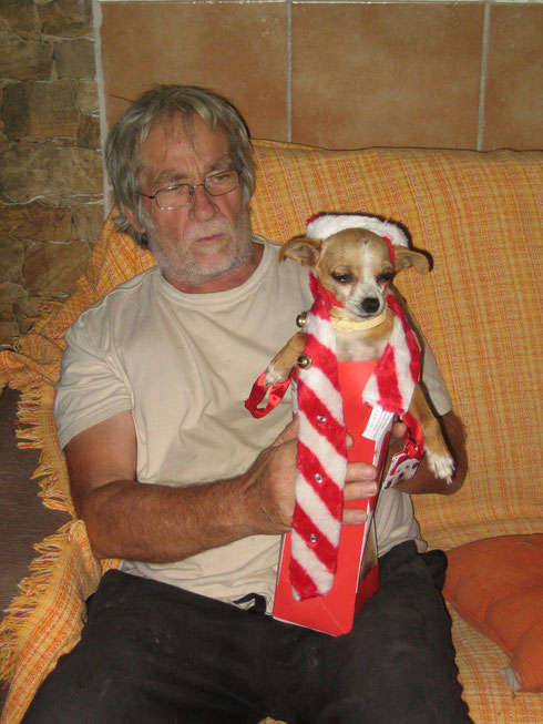 Tweety wird ganz offiziell zu Lamberts Hund