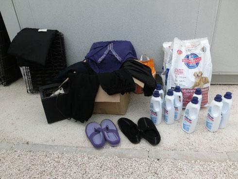 Helficus Pakete sind im Refugio Esperanza angekommen