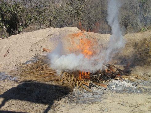 und verbrennen