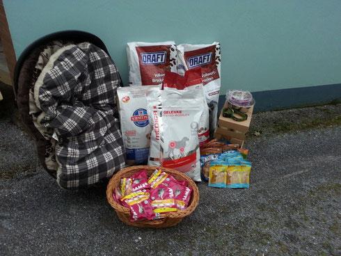 Helficus Spenden für Maria in Patras