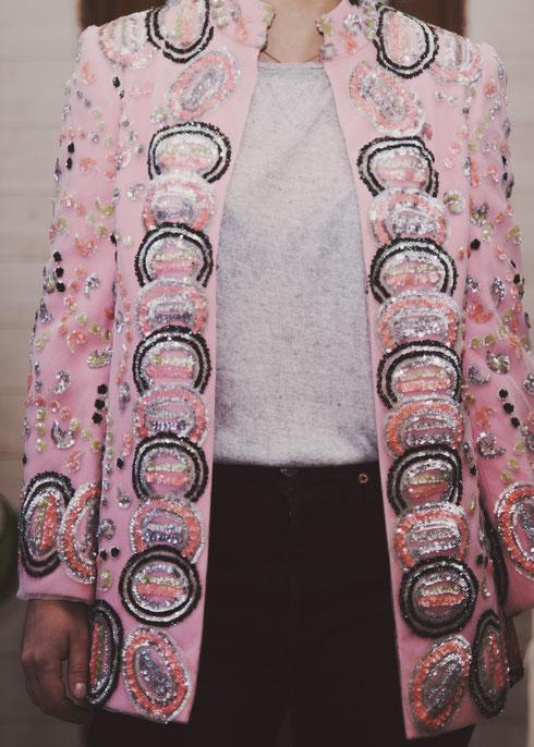 Felicita Vintage - Veste vintage haute couture Pedro Rodriguez