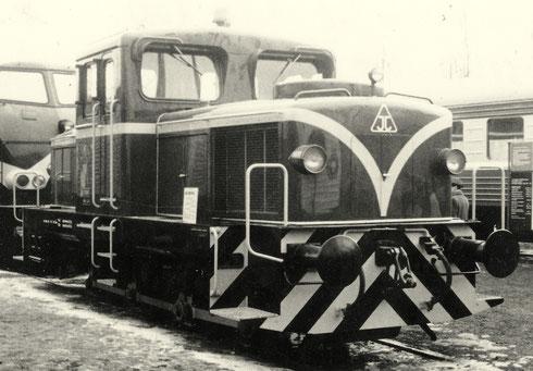 Jung stellte eine R42C auf der Frühjahrsmesse 1965 in Leipzig aus (Aufnahme: Joachim Fulde, Potsdam)