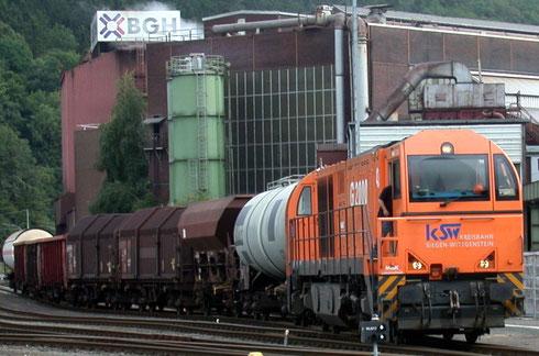 Der Schein trügt: BGH nutzt die Bahn nicht (Aufnahme Dr. Richard Vogel, 27.08.2010).
