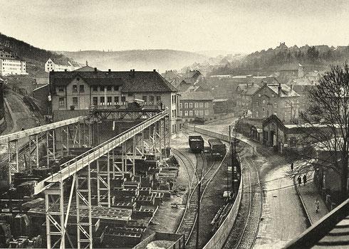 Siegen 1950: Maschinenfabrik Waldrich, Standort aufgegeben 1981
