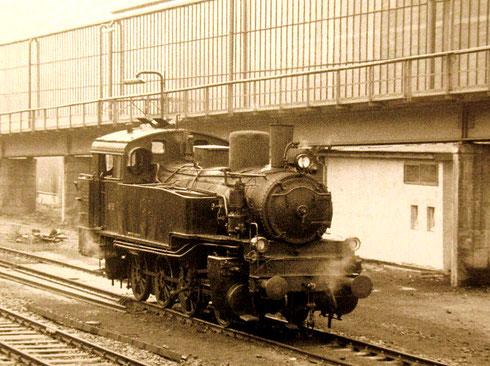 Eine preußische T13 aus Werklok der Charlottenhütte, um 1960