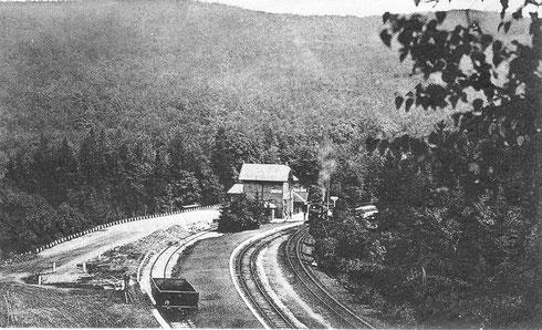 Bahnhof Vormwald, 1914