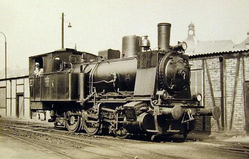 Lok 4 der Grubenbahn, 1935