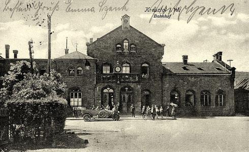 Empfangsgebäude Kreutal 1910