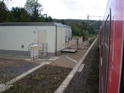 ESTW im ehemaligen Gleisfeld des Bahnhofs Welschen-Ennest (2007