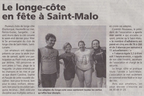 LE PAYS MALOUIN 18 SEPT.2014 - Radieuses et épanouies!