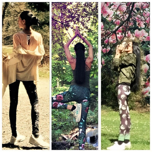Yoga Leggins - Yoga Fashion - Wanderlust - Outdoor - Waldbaden