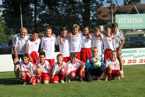 Bülachs verstärkte Db Junioren am Turnier in Rümlang (Foto Thomas Niklaus)
